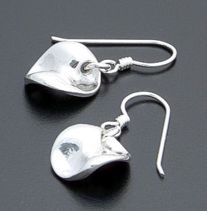 Zina - Mobius Sterling Silver Dangle Earrings #36869 $75.00