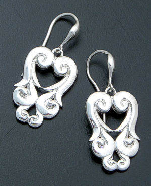 Zina - Seville Sterling Silver Dangle Earrings #39615 $135.00