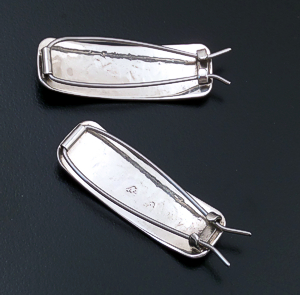 Navajo - Small Stamped Sterling Silver Hair Barrette Set #25656 $55.00