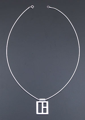 "Zina - 17"" Windows Sterling Silver Pendant Necklace #37291 $180.00"