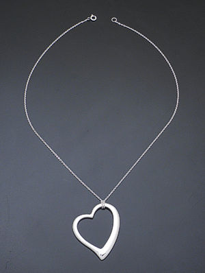 Castle gap jewelry sterling silver native american jewelry zina sterling silver large open heart pendant necklace 37297 24000 aloadofball Choice Image